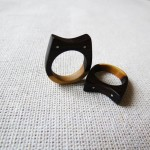 Inel din lemn handmade