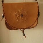 geanta din piele handmade