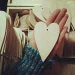inima din lemn handmade