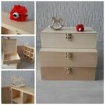 cutii din lemn