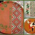 farfurii pictate handmade