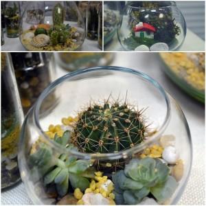 gradina in miniatura handmade