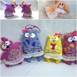 jucarii de textil handmade