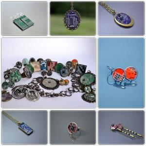 bijuterii din piesel electronics reciclate